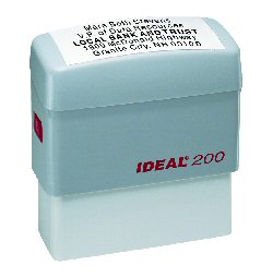 IDEAL Notary Stamps